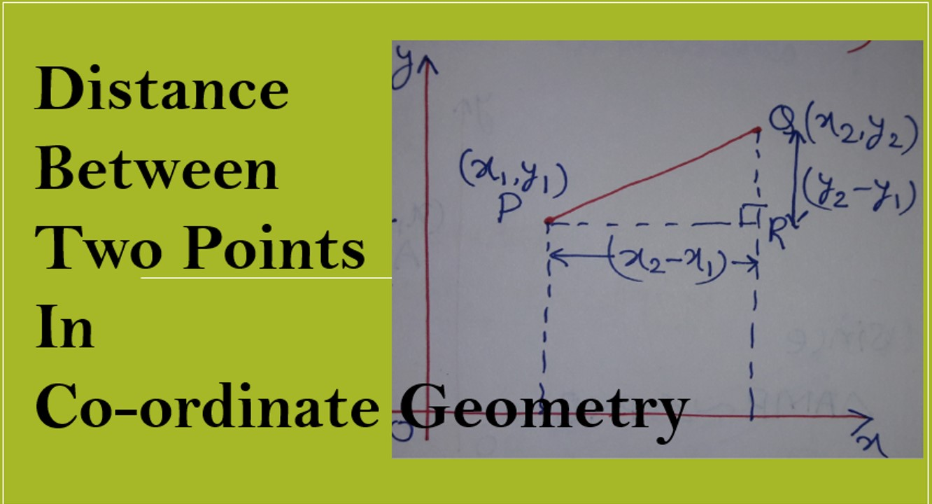 Distance Between Two Points or Distance Formula-amansmathsblogs.com