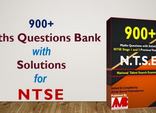 900 NTSE Maths Ques Bank With Solutions