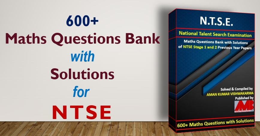 NTSE Maths Question Bank With Solutions