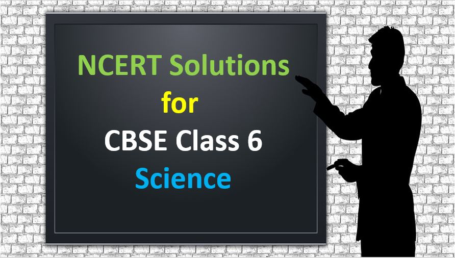 NCERT Solutions For CBSE Class 6 science