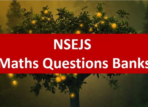 NSEJS Maths Previous Year Questions Bank With Solutions