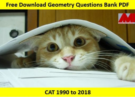 Geometry Questions Bank PDF for CAT