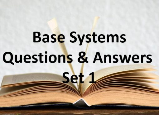 base systems questions and answers set 1
