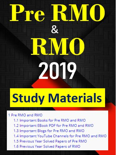 Pre RMO and RMO 2019 | Books | PDF | YouTube | Blogs |Solved