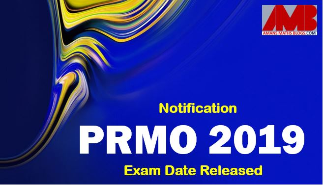 pre rmo 2019 Notification