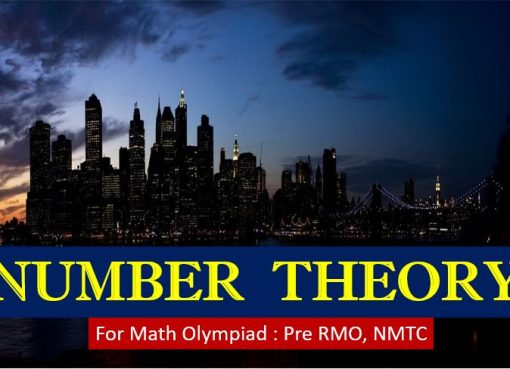 number theory for math olympiad rmo nmtc