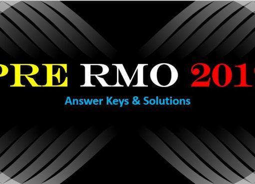 Math Olympiad RMO Notification | RMO 2019 | Math Olympiad