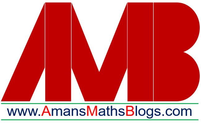 Amans Maths Blogs AMB