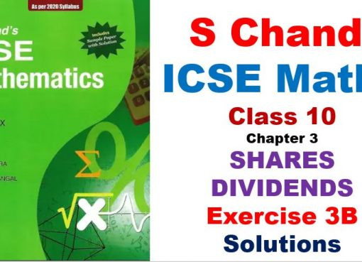 s-chand-icse-maths-solutions-class-10-chapter-3-shares-and-dividends-exercise