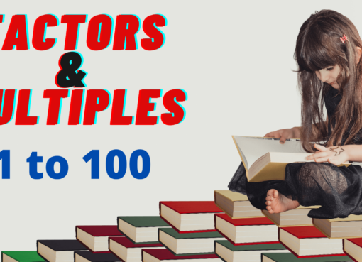 Factors and Multiples Tables 1 to 100 Number of Factors Sum Product of Factors