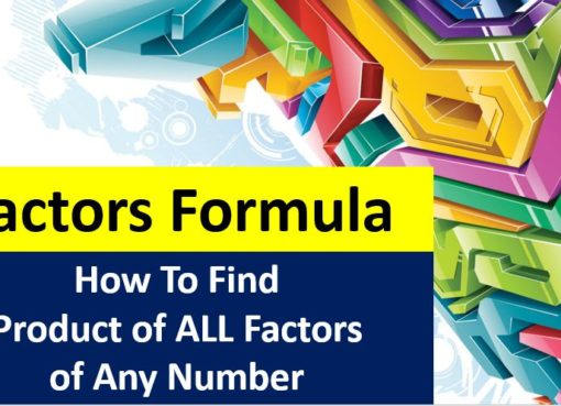 Factors Formula How To Find Product of Factors of a Composite Numbers