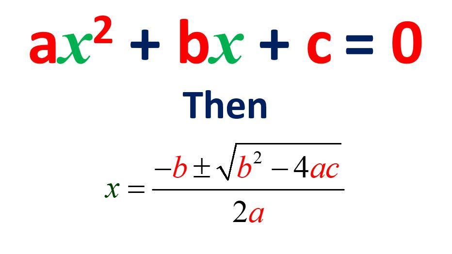 solving quadratic equations by quadratic formula amans maths blogs