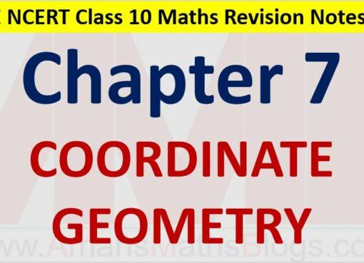 Coordinate-Geometry-CBSE-NCERT-Notes-Class-10-Maths-Chapter-7-PDF