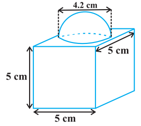 Surface Areas and Volumes CBSE NCERT Notes Class 10 Maths Chapter 13 PDF