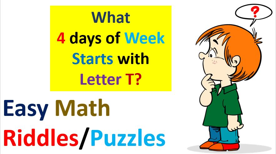 Easy Math Riddles Puzzles with Answers PDF Download