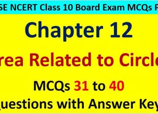 Extra-MCQ-Questions-for-Class-10-Maths-Chapter-12-Area-Related-to-Circles