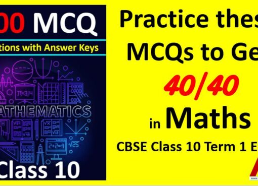 Previous Year MCQ Questions for CBSE Board Term 1 Class 10 Maths with Answer Keys AMBiPi Amans Maths Blogs